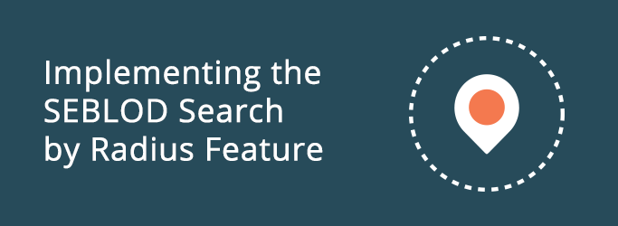 Implementing the SEBLOD Search by Radius Feature